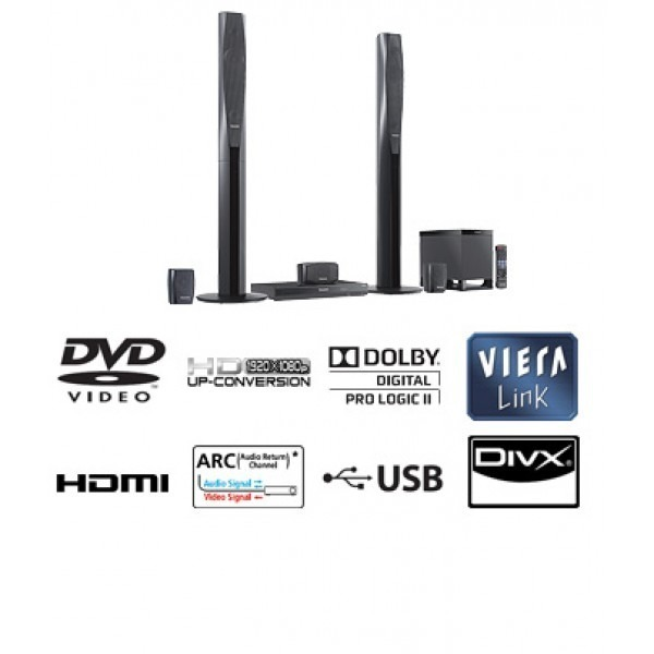 Best Electronics BDpanasonic scxh55 region free usb playback home theather 110 220 volts 3ca